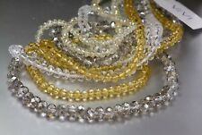 ViVi Cookie Lee Multi-Color 4 Strand Bead Necklace Geniune Crystal NWT $45