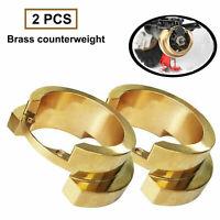 Upgrade Brass Outer Portal Weights Radgewicht für 1:10 Traxxas TRX-4 RC Auto Car