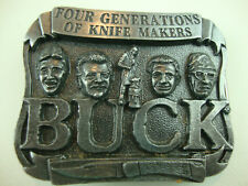 Old Buck Knives Belt Buckle 4 Generations Of Knife Makers Smoky Mountain Works