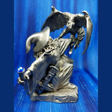 Arthanen Wizard with Dragon Magic Pewter Figurine Rawcliffe US Made