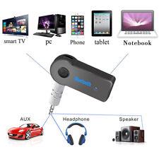 Inalámbrico Bluetooth Receptor de Audio Música Estéreo Adaptador De Coche 3.5 mm
