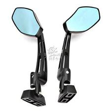Blue Racing Rearview Mirrors For Yamaha FZ1 FZR 600 1000 1100 FJR Fazer