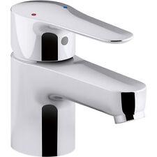 KOHLER 16027-4-CP July Single Handle Bathroom Sink Faucet, Polished Chrome
