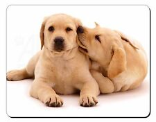 Yellow Labrador Dogs Computer Mouse Mat Christmas Gift Idea, AD-L51M