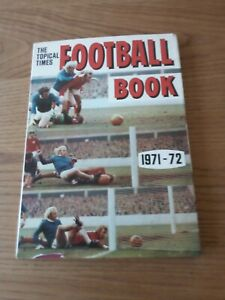 Vintage Topical Times football annual 1971-72
