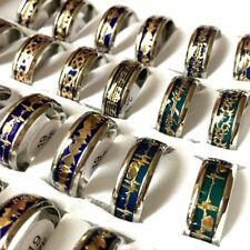 36 Mix Mood Color Change stainless steel rings Band wholesale men women jewelry