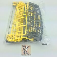 Micro Knex Hornet Swarm Coaster Track Black & Yellow - 26 Tracks (New)