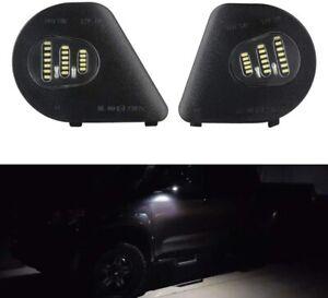For Dodge Ram 2500 1500 3500 4500 5500 Right/Left LED Side Mirror Puddle Lights