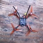 """Primo 3 Gnarly 3"""" FPV drone frsky xm+ Sub250 Custom Tune Flies Great 2s BNF"""