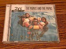 THE MAMAS & THE PAPAS THE BEST OF CD STILL FACTORY SEALED WITH SECURITY STICKER