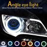 60MM-120MM COB Angel Eyes Halo 12V Car Auto LED Light Ring DRL Headlight Lamp