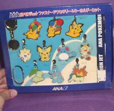 ot ANA Pokemon Metal Charm figure Keychain Set (2001) Togepi Totodile Cyndaquil