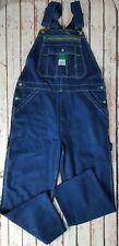 USA Liberty Denim Jeans Dungarees Workwear Overalls Bib and Brace Size Large