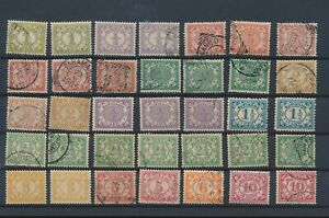 LN18391 Suriname definitives fine lot used