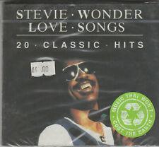 Stevie Wonder- Love Songs Factory Sealed BRAND NEW CD Free 1st Class UK P&P