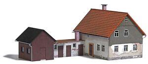 Busch 1909 Wohnhaus mit Nebengelass H0 ++ NEU in OVP
