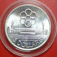 "Singapore 5 Dollars 1973 ST-BU Silber #F3572 ""7th Seap Games"" KM#10"