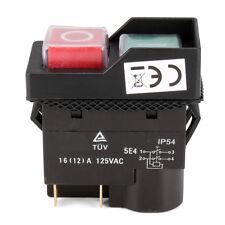 125V KJD17 IP54 Schalter 4 Pin NO-Spannung Release Switch Kunststoff