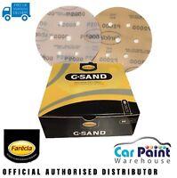 "Farecla P2000 G Sand 6"" 150mm Finishing Film Polishing Sanding Discs 50pk P2000"