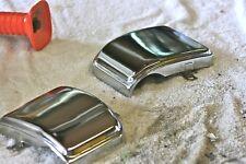 1980 Suzuki GS850G OEM Chrome Side Trim Covers (Set 2).      (# 712)