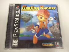 Floating Runner: Quest for the 7 Crystals (Sony PlayStation 1 PS1 PSX, 1996)