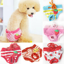 Cute Dog Shorts Panties Briefs Female Dog Physiological Pants Diaper Sanitary