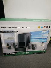 New In Original Box Baldwin Acoustics Bt-6210 5.1 Home Theater System