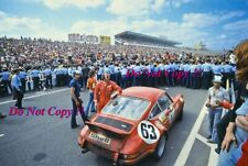 Loos & Barth Gelo Racing Team Porsche 911 Carrera RSR Le Mans 1973 Photograph 1