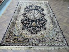 A MARVELLOUS OLD MACHINE MADE ORIENTAL RUG (290 x 200 cm)