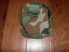 NEW U.S MILITARY MOLLE II MEDIC POUCH WOODLAND CAMOUFLAGE FIRST AID BAG