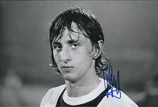 Johan CRUYFF Signed Autograph 12x8 Photo AFTAL COA HOLLAND AJAX Cup Winner