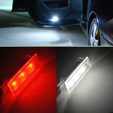 For BMW E90 M3 E92 E60 M6 E70 X5 2x Error Free Red White Led Courtesy Door Light