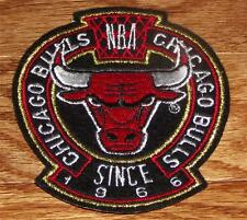 """High Quality Chicago Bulls Crest Sleeve or Polo Sized Embroidered Patch 3.75"""""""