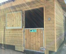 AGRI-FABS Galvanised stable doors, Made to order to your exact sizes!!