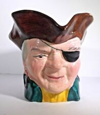 Vintage Cooper Clayton Patch Pirate Character Toby Mug Sterling Pottery England