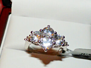 Ratanakiri Zircon Cluster Ring  3.55ct