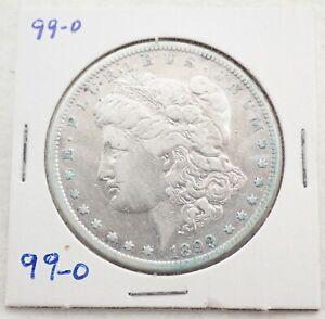 Antique 1899 O Morgan 90% Silver Dollar Coin