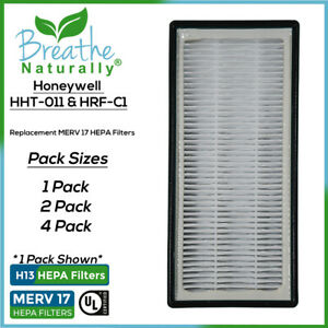 Replacement MERV 17 HEPA Filters For Honeywell HHT-011 HHT011 HHT-081 HHT-085