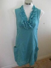 Ladies Green CAPTURE Sleeveless Dress Size 10