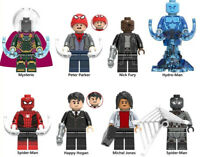 Marvel Spider Man Michel Jones Peter Parker Nick Fury Hydro-Man Building Blocks