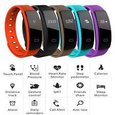 Smart Watch Bracelet Waterproof Health Sleep Fitness Tracker Heart Rate Monitor