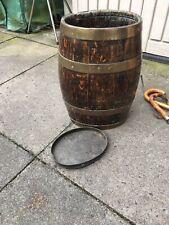 More details for old oak barrel /umbrella stand