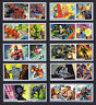 2019 MARVEL COMICS SMILERS Set of Ten SINGLE LITHO STAMPS + LABELS