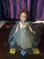"Effanbee Anne-Shirley Composition Doll 16"" Tall Circa 1930-40"