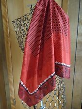"""NWOT The Limited 36"""" Square Red/Black/White Scarf Horses & Multiple Designs"""