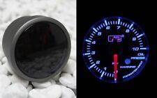 Pression d'huile Affichage 52mm smoke Line bleu step moteur autogauge + donateurs + support NEUF