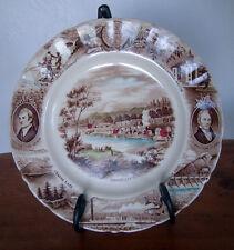 Oregon Collectible Porcelain Plate, Meier & Frank, by Johnson Bros. England