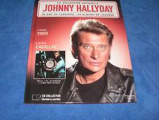 JOHNNY HALLYDAY CADILLAC LA COLLECTION OFFICIELLE CD COLLECTOR + LIVRET