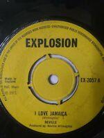 "Neville-I Love Jamaica 7"" Vinyl Single 1971 UK COPY"