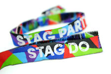 STAG PARTY Wristbands (Team Groom) stag do favours accessories